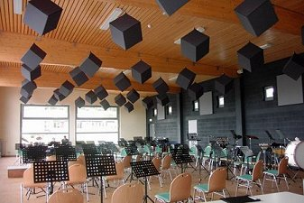 Prosonic Acoustic Cubes For Acoustic Absorption In High