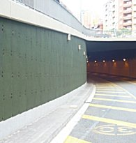 prosonic external acoustic absorbent panels for roadside and railways etc