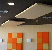prosonic nimbus suspended framed acoustic clouds