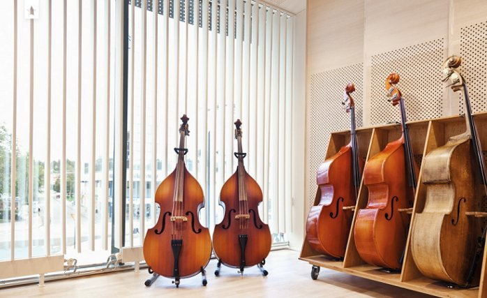vertical acoustic blind