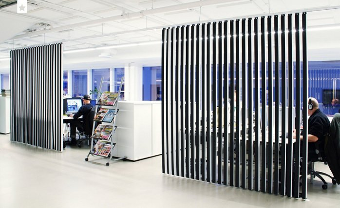 vertical acoustic dividers