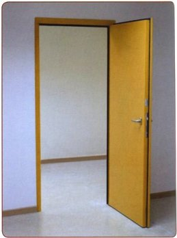 A high performance steel acoustic door with up to an exceptional Rw47dB available with a wide range of optional accessories such as vision panel ... : soundproofing door - pezcame.com