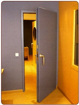 Soundproofing Steel Acoustic Doors Rs4 42db