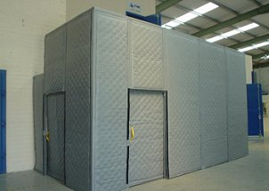 Heavy Weight Acoustic Curtains For Portable Industrial